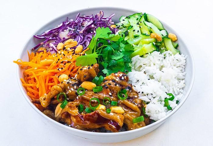 Kurací Rice bowl