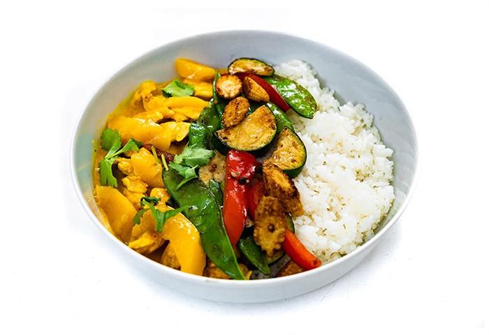Thajské mango-curry