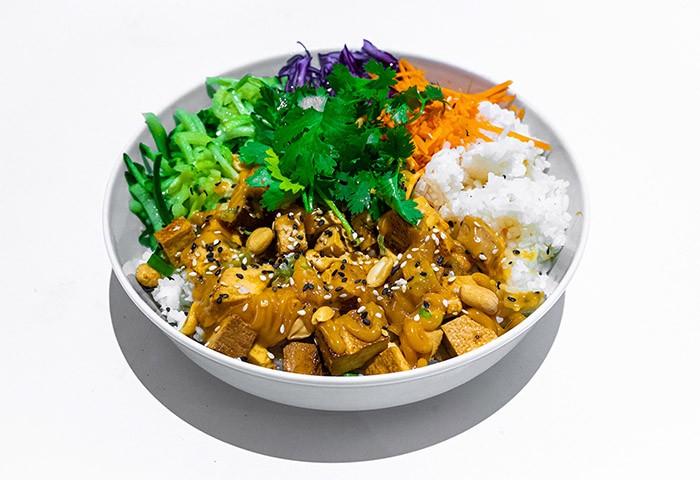 Tofu Rice bowl